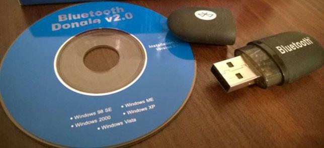 USB Блютуз адаптер с диском