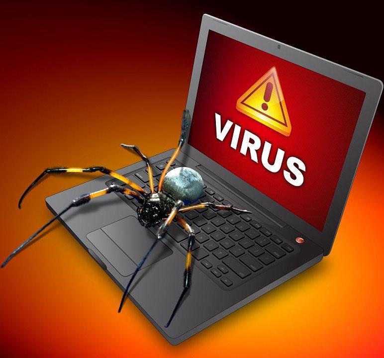 На ноутбуке вирус
