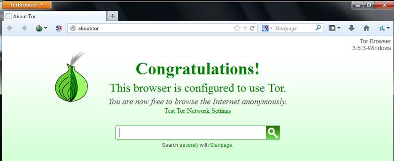 Интернет Браузер TOR