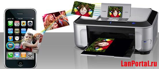 Печатать с телефона на принтер